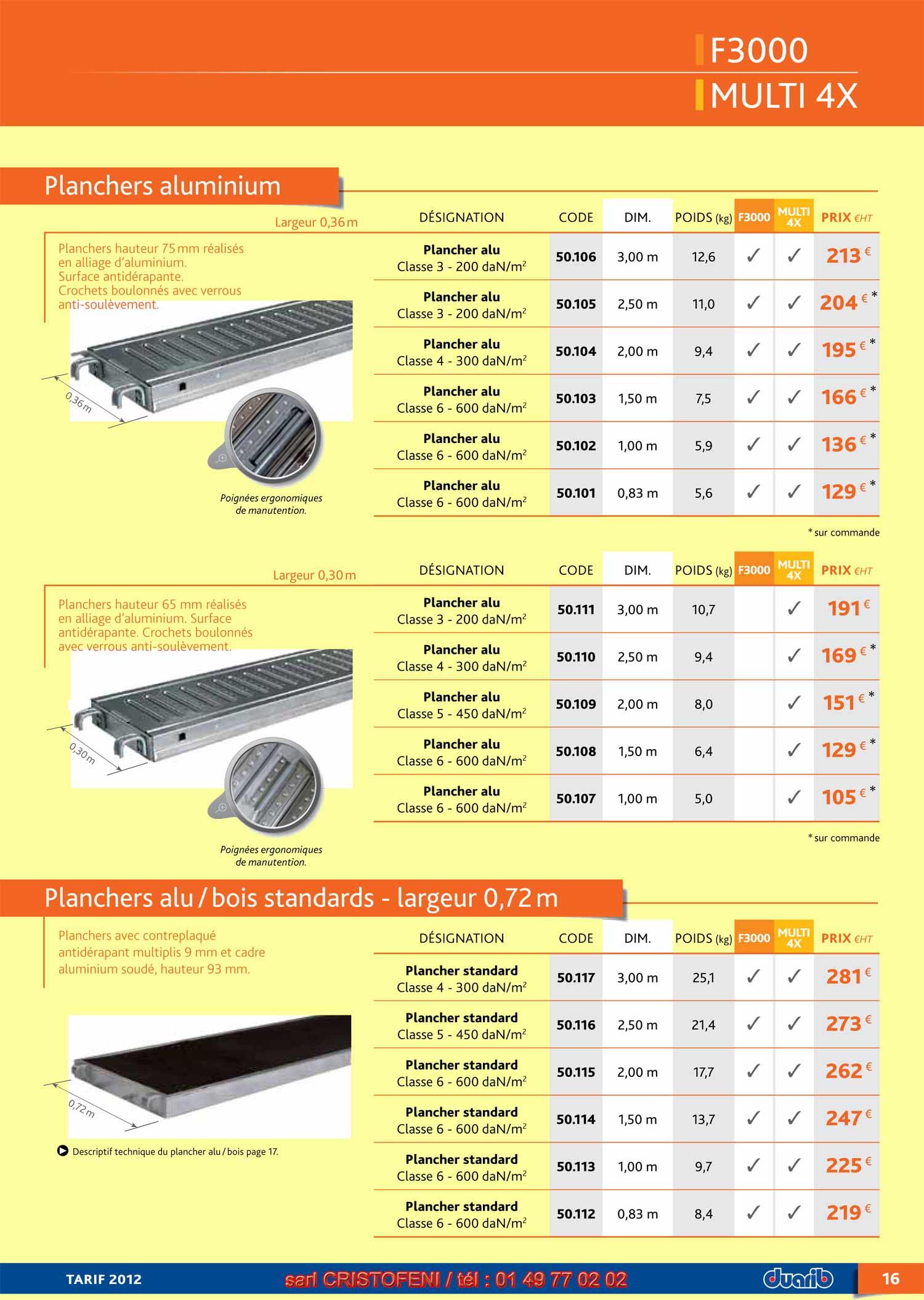 page 16 planchers aluminium plancher alu bois pour. Black Bedroom Furniture Sets. Home Design Ideas